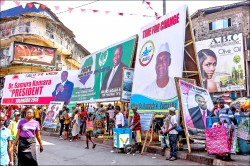 西非獅子山大選 總統候選人高喊「我們是中國人」