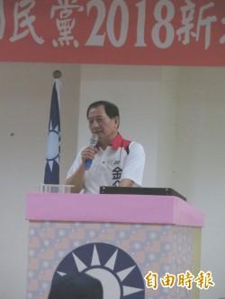 金介壽初選談政見 多狂言台下冷