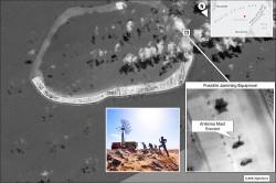 中國武裝南海 架電波干擾設施