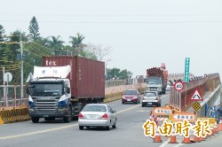 注意!民雄陸橋 23、24日夜間封閉施工