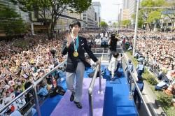 近11萬人參加羽生結弦仙台遊行 現場幾乎沒垃圾!