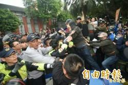 反年改衝立院毆記者 陳家欽:違法脫序滋事一律逮捕