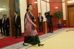 翁山蘇姬態度大轉彎 希望羅興亞難民回緬甸
