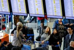 歐洲第三大機場停電  旅客塞爆大廳超壯觀