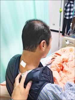 脖子卡卡手舉不高 竟是頸椎椎間盤突出