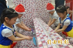 5月腸病毒增溫  彰縣教幼兒洗手洗對時機
