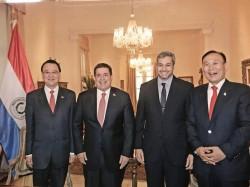 外交部次長:巴拉圭準總統 邀蔡總統出席就職典禮