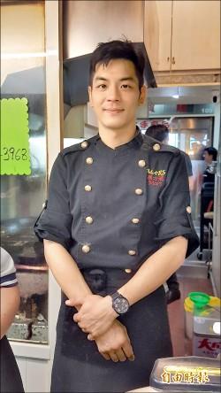 型男棄餐廳主廚頭銜 菜市場開店