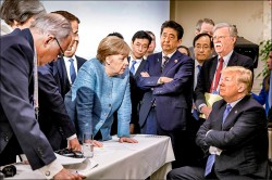 不爽加國總理放話 美不簽G7公報