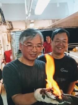 台灣西南海域首見可燃冰 新興能源「點燃」希望