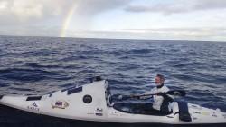 史上第一人! 他划獨木舟從澳洲橫渡紐西蘭