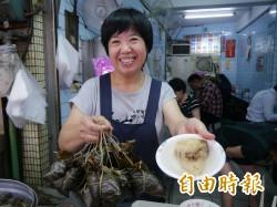 天天吃好料》豐原永芳亭肉粽 飄香廟東夜市80年