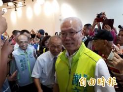 新竹市長選戰 謝文進宣佈參選 藍綠參選人各有說法
