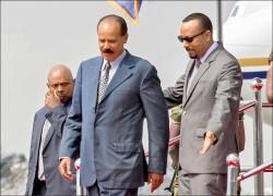 東非世仇和解 厄利垂亞總統出訪衣索比亞