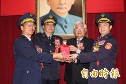 雲縣警察局長 黃勢清接任