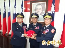 高階警官異動 台南2前後任六分局長調升副局長