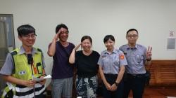警追20公里找手機 日本夫妻擠眼敬禮
