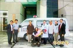 80歲嬤盼救活更多人 存老人年金 捐贈救護車