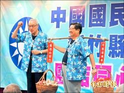 吳挺楊文科「國民黨唯一支持」