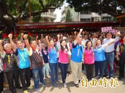 批判台南有四欠 高思博大喊:除暴政 、新台南起義!
