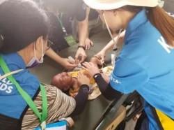 寮國潰堤災區廢墟發現嬰兒 獨自存活逾一週奇蹟生還
