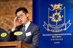 砲轟中國 陳浩天:港獨才有真民主