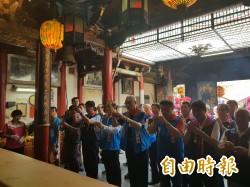 吳敦義至台南拉抬高思博     批民進黨執政不力