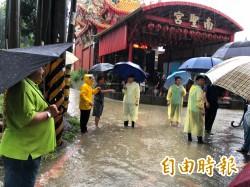 高雄多處淹水 陳其邁宣佈暫停選舉活動、全力救災