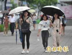 西南氣流影響到週三 南部地區嚴防豪雨