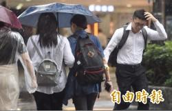 高屏慎防劇烈「大豪雨」西南氣流發威 10縣市豪大雨特報