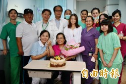 美女麻醉醫師專業處置 車禍命危婦人重生出院