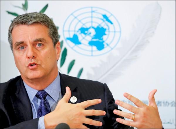 WTO秘書長:美若退出WTO 恐引爆全球經濟混亂