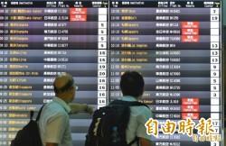 天災重創大阪、札幌 台日航班因應情形看這裡