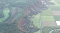 北海道厚真町大片山坡地崩落 大批民宅倒塌