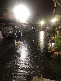 大雷雨強襲! 新北12區列淹水警戒區
