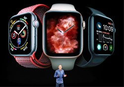 Apple Watch心跳警訊 恐加重醫護負擔