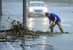 山竹颱風一路橫掃 菲粵港澳66死45失蹤261傷