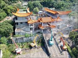 五星共產寺拆了