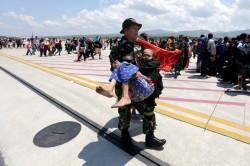 印尼強震機場癱瘓 死亡人數攀升至1347人