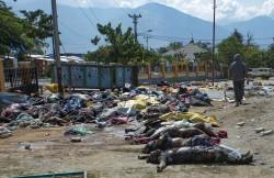 印尼強震海嘯已致1407死   罹難者曝屍多日開始發臭