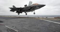 美F-35戰鬥首秀  外媒痛批「1億美元戰機打AK-47步槍」