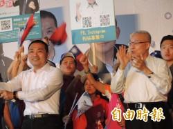 侯友宜中永和競選總部成立 打危機牌喊「每一票都丟不得」