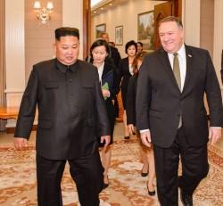 「他」旋風訪問北韓 推特透露:取得「川金會」進展