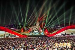 衛武營開幕 兩萬人參加派對