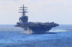 美艦兩路環台通過!2神盾艦經台海 航母走東岸
