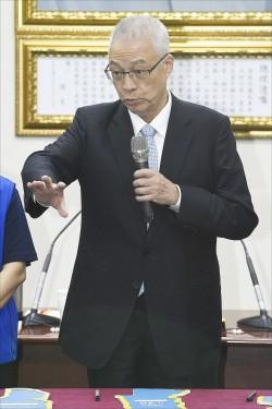 吳敦義選戰節目 首播喊卡