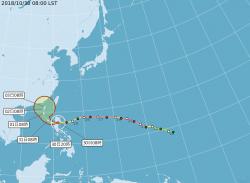 玉兔外圍環流靠近 週五前北部、東半部防豪雨來襲