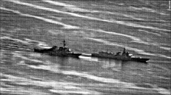 美中機艦不安全接觸 近3年18起