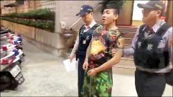 「蘆竹王陽明」被逮開直播 網友歪樓讚女警好正
