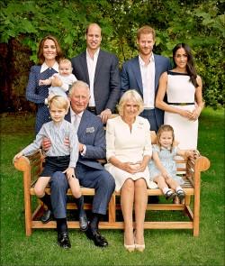 英王儲全家福 三代同堂